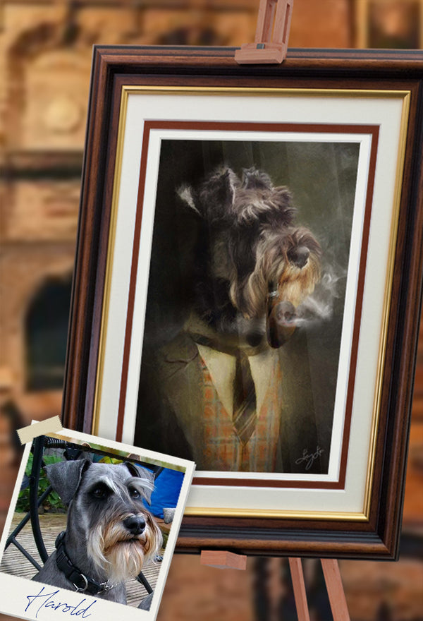 Gentry Pet Portrait at Turner & Walker