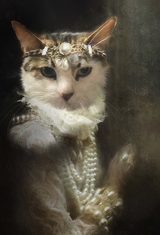 Guinevere Pet Portrait at Turner & Walker