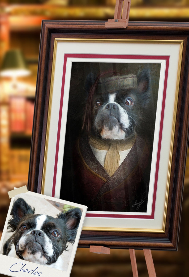 His Lordship Pet Portrait at Turner & Walker