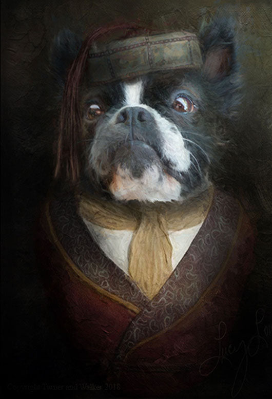 His Lordship Painting from Turner & Walker Pet Portraits only £60