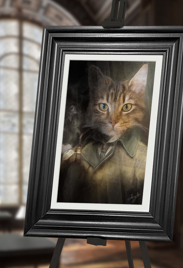 Holmes Pet Portrait at Turner & Walker