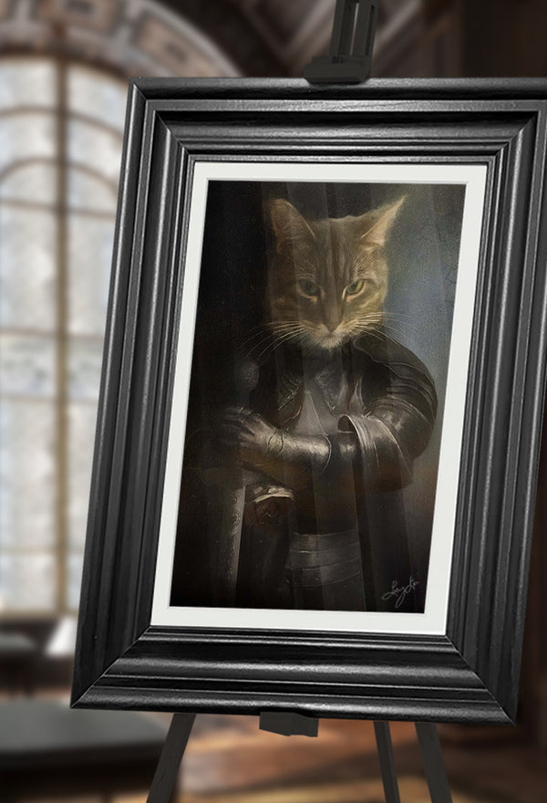 Joan of Arc Pet Portrait at Turner & Walker