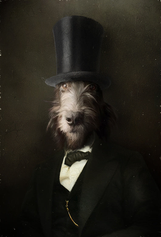 Lincoln Painting from Turner & Walker Pet Portraits only £60