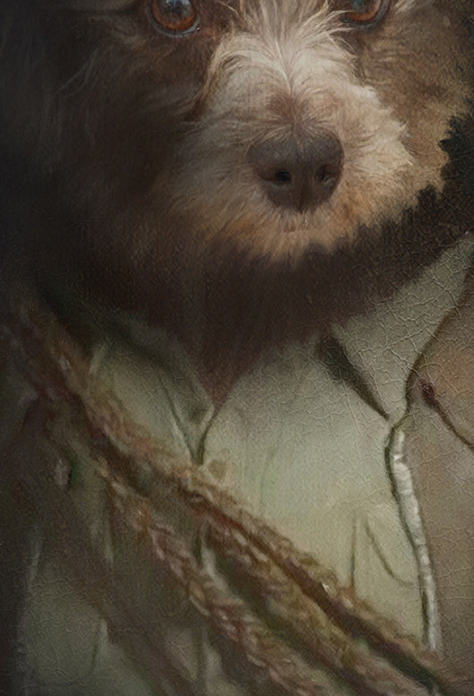 Little Indiana Pet Portrait at Turner & Walker