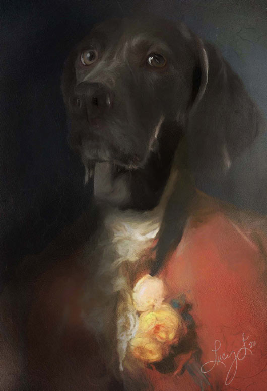 Lord Farquad Pet Portrait at Turner & Walker