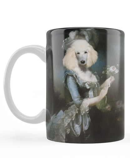 Custom Pet Portrait Art 11oz Mugs Pet Portrait at Turner & Walker