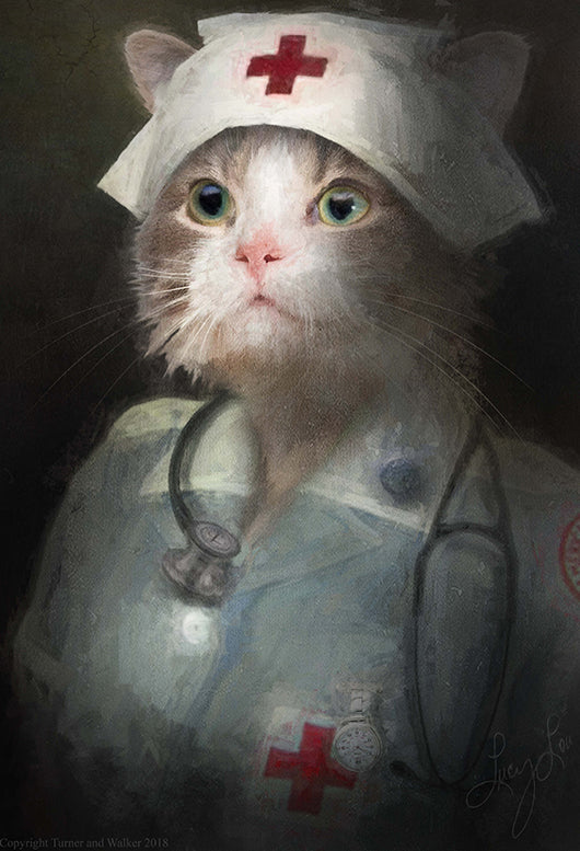 Matron Pet Portrait at Turner & Walker