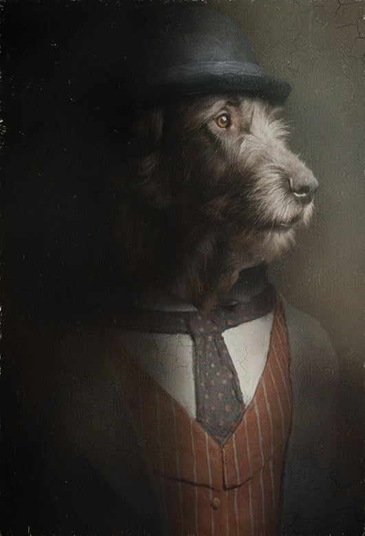 Peaky Pet Portrait at Turner & Walker