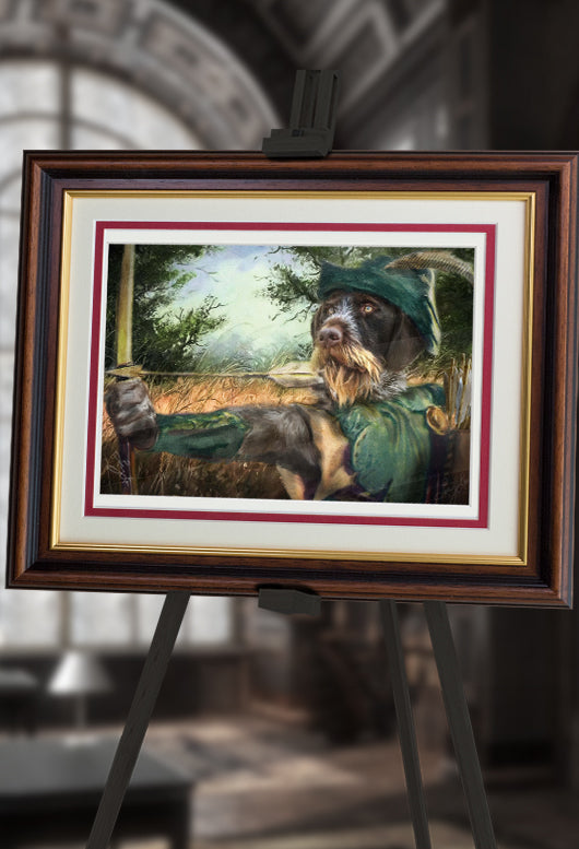 Robin Hood Pet Portrait at Turner & Walker