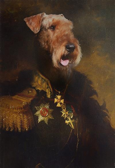 The General Pet Portrait at Turner & Walker