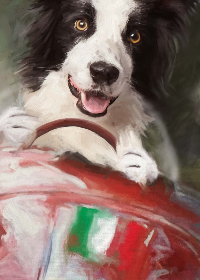 Alfa Dog Painting from Turner & Walker Pet Portraits only £60
