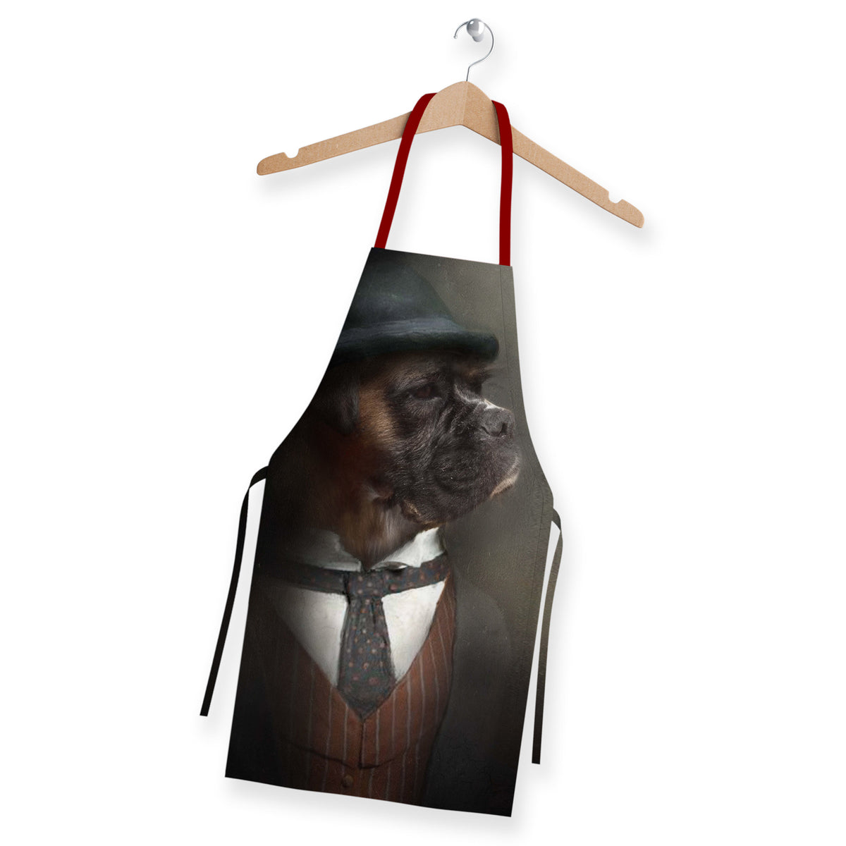 Custom Pet Portrait Art Aprons Pet Portrait at Turner & Walker