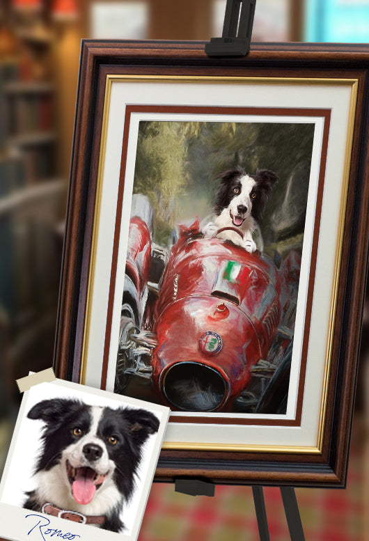 Alfa Dog Pet Portrait at Turner & Walker