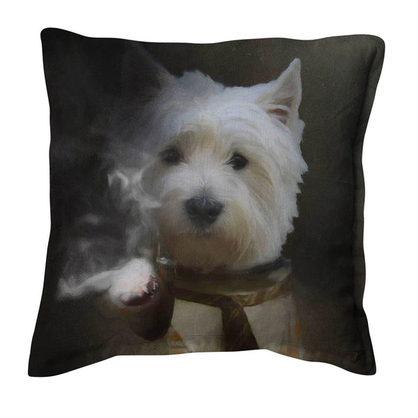Custom Pet Portrait Art Cushions Pet Portrait at Turner & Walker