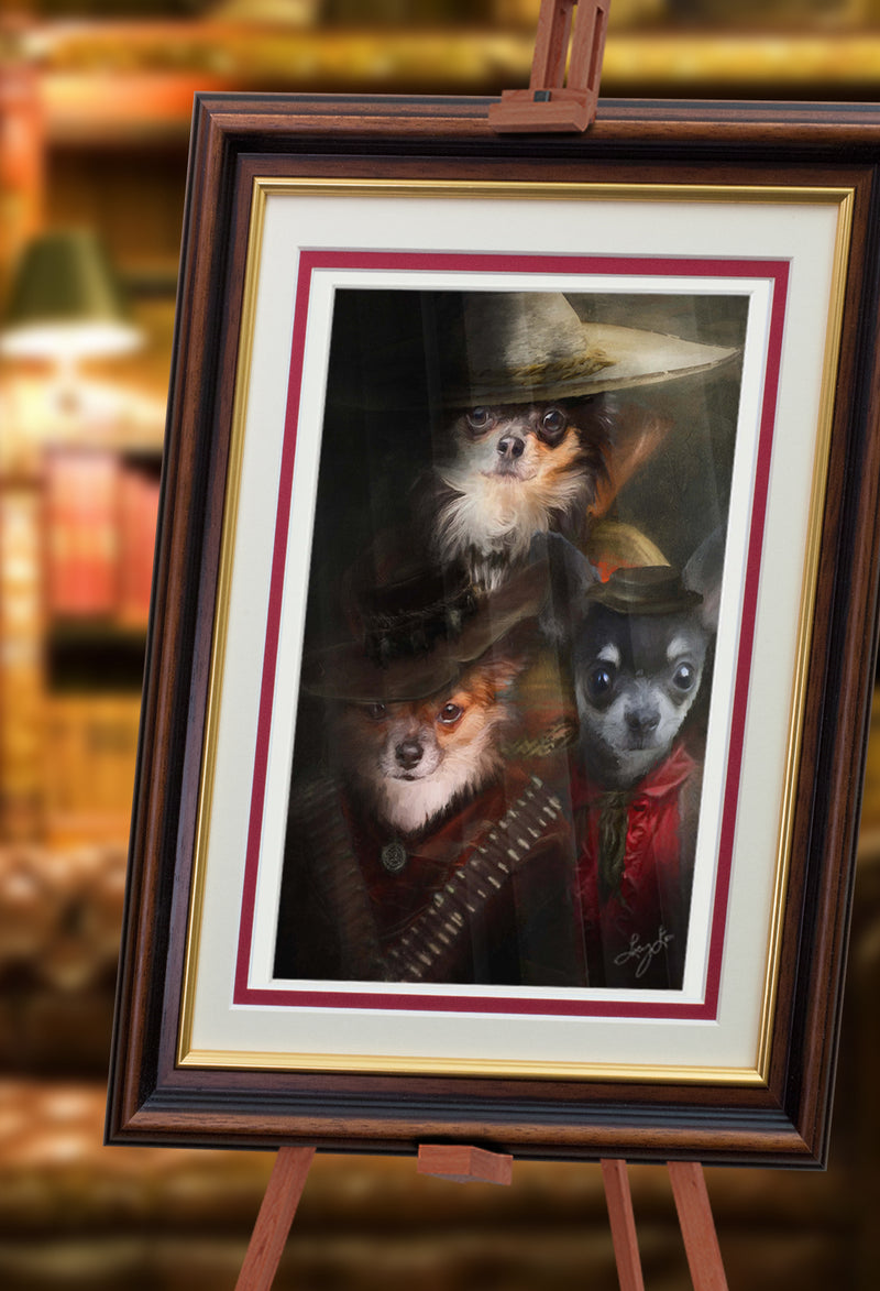 Desperados Pet Portrait at Turner & Walker