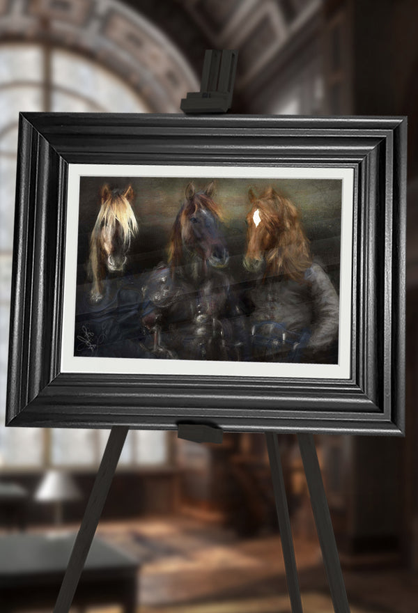 The Highwaymen Pet Portrait at Turner & Walker