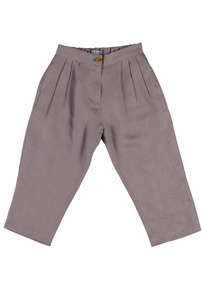 Elsa trousers, heritage silver