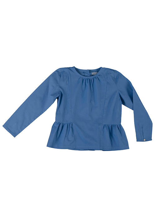 Rosa blouse, bluebell