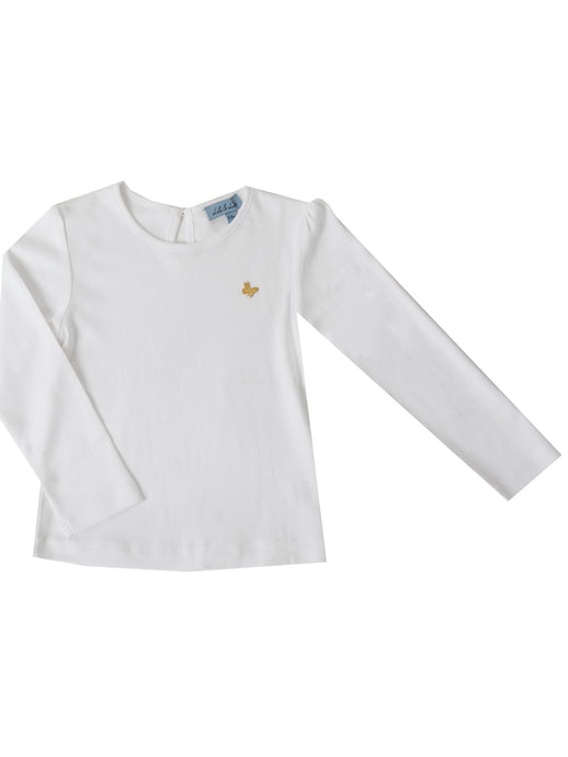 Melia long sleeved t-shirt, White