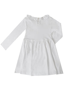 Saskia dress, white