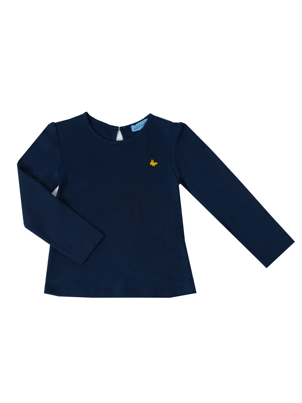 Melia long sleeved t-shirt, navy