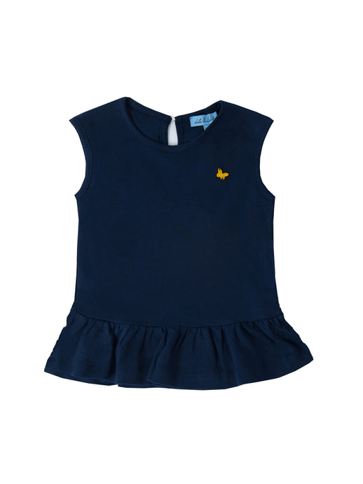 Linda top, Navy