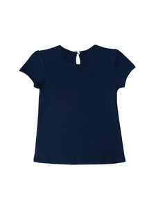Ella t-shirt, navy