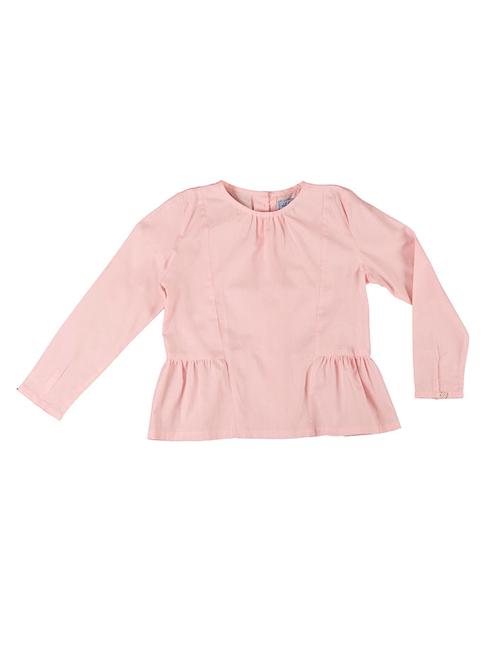 Rosa blouse, pink rose