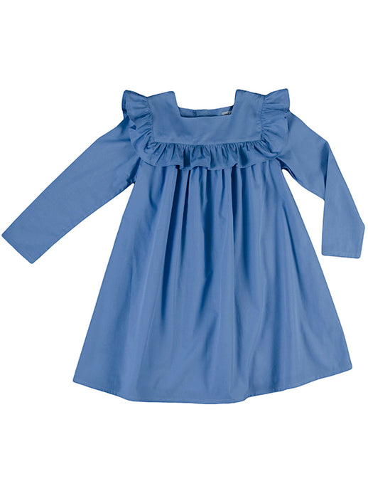 Nora dress, bluebell