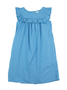 Amanda dress, bluebell