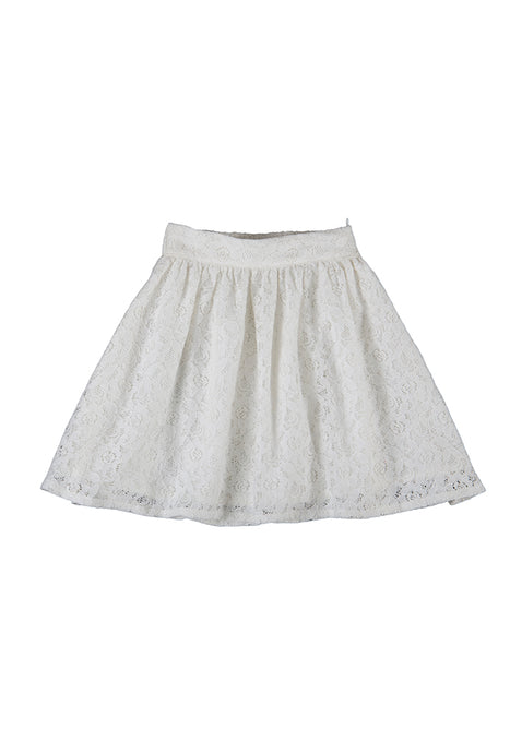 Peggy skirt, off white lace
