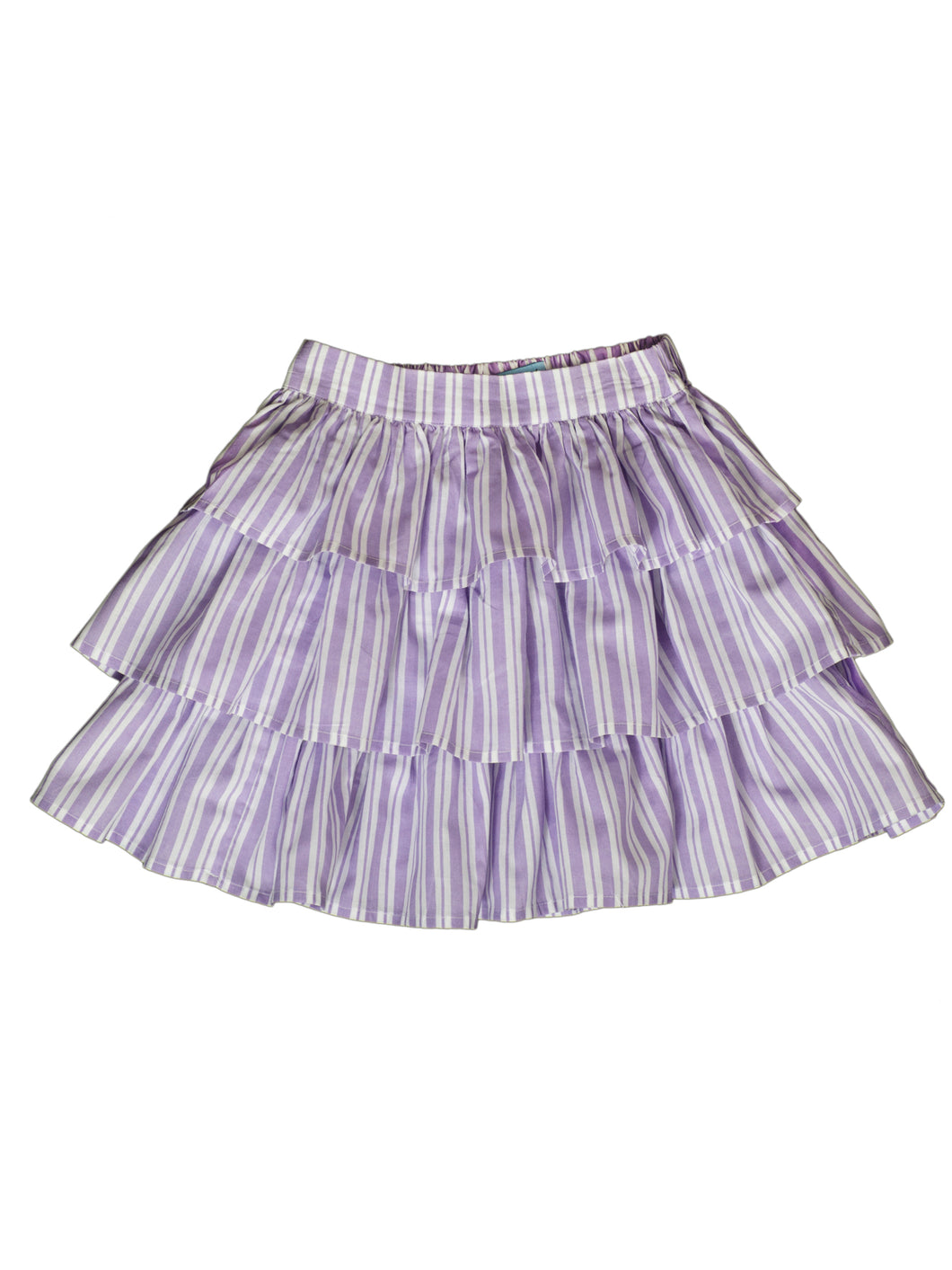Elif skirt, purple stripe