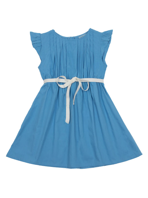 Minnie dress, bluebell