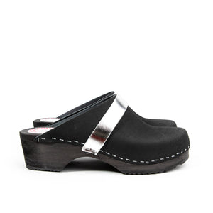 Solna unisex black and silver