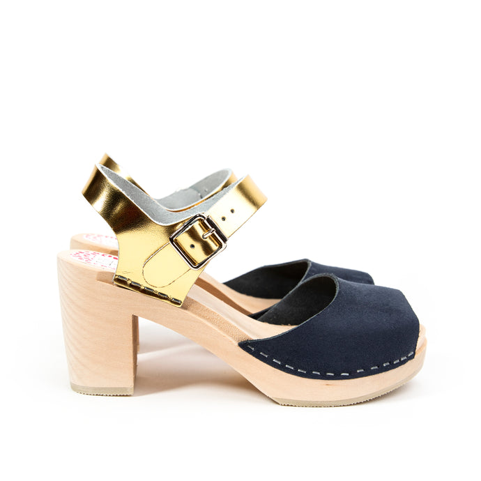 Visby navy and gold
