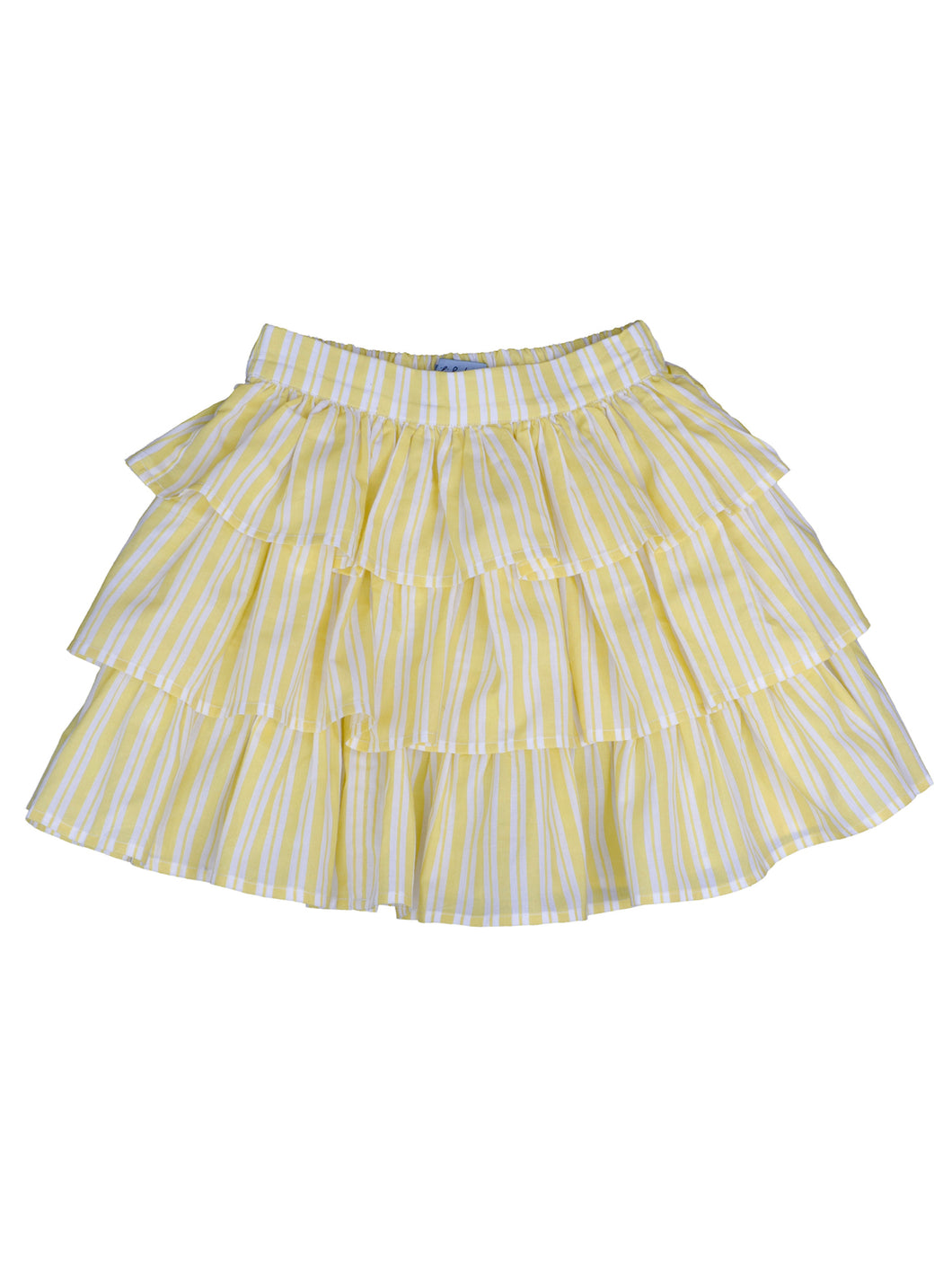 Elif skirt, corn stripe