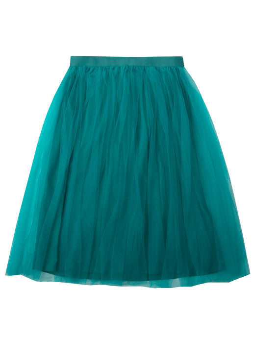Giselle skirt woman, turquoise