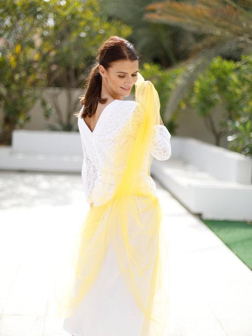 Giselle skirt woman, yellow