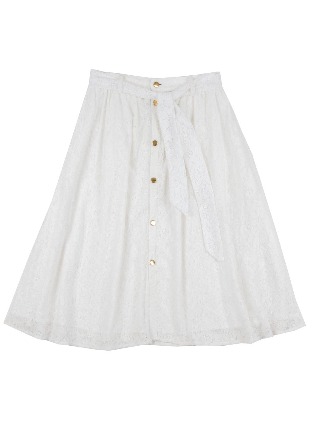 Johanna skirt, white lace