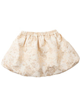 Magda skirt child, gold brocade