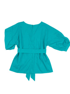 Mika top, turquoise