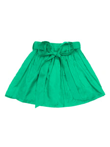 Marta silk skirt, emerald