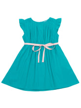 Minnie dress, turquoise