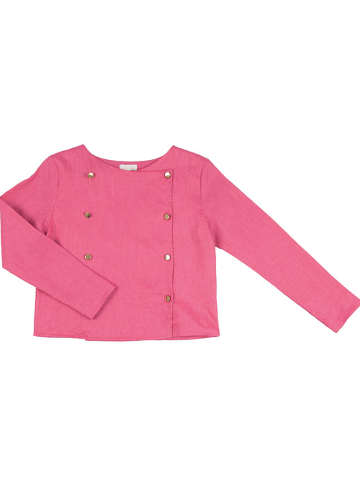 Miriam jacket, dark pink