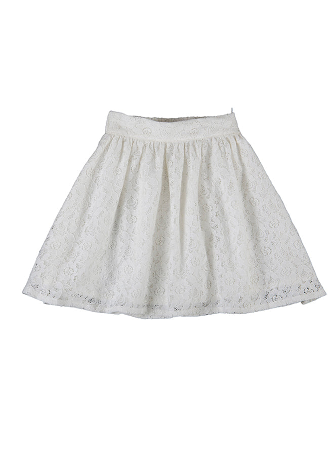 Peggy skirt, white lace