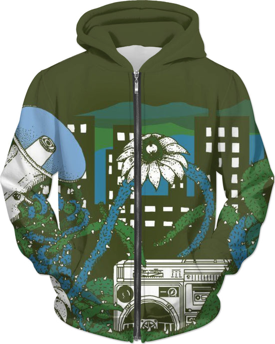 Smell the Hoodie Black!!
