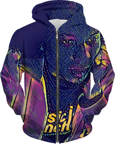 BluRum13 Ladies Thinker hoodie