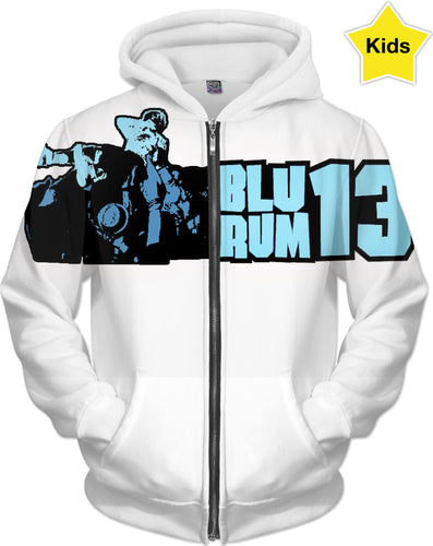 BluRum13 crowd surf kids hoodie