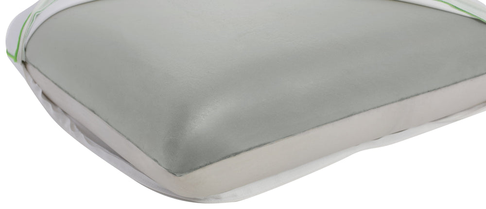 Best Of Both Worlds Memory Foam Pillow, Standard - One Side Is Soft The Other Is Firm - Therapeutic Memory Foam - Cooler Than The Otherside Of Any Pillow - Bed Pillow, White