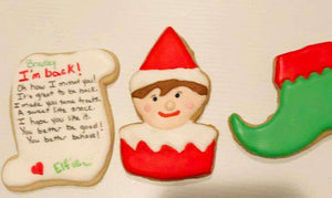 Elf of the shelf Cookie - Kai's Kookies